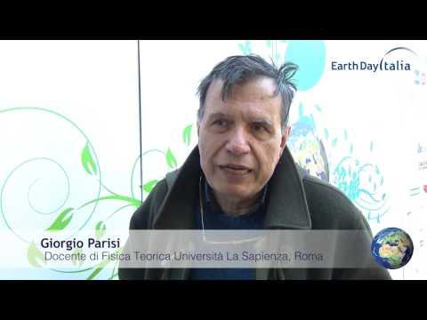 Giorgio Parisi, docente di Fisica Teorica  alla Sapienza: In Marcia per la Scienza al Villaggio per la Terra.