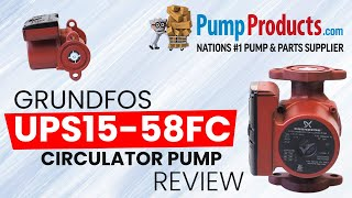 Download Lagu Pump Products' Grundfos UPS15-58FC Circulator Pump Review* Mp3