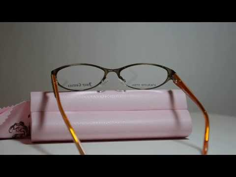 New Authentic Juicy Couture Eyeglasses Juicy Cerise FK4