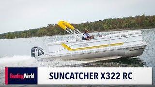 8. SunCatcher X322 RC – Boat Test