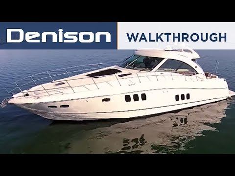 60 Sea Ray Sundancer [Yacht Walkthrough]
