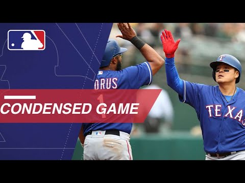 Condensed Game: TEX@OAK - 4/5/18
