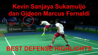 Video Best Defense Highlight Kevin Sanjaya Sukamuljo dan Gideon Marcus Fernaldi MP3, 3GP, MP4, WEBM, AVI, FLV September 2018
