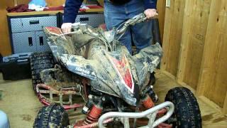 9. YFZ 450 Cold Ride