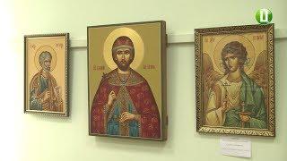 У Хмельницькій школі іконопису «Нікош» відкрилася виставка ікон до Дня міста Хмельницького