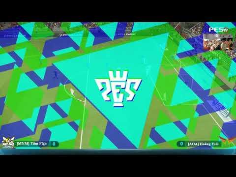 Showmatch PES 2018 | [MYM] Tâm Figo vs [AOA] Hoàng Yolo 27-10-2017