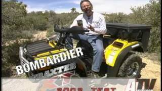 6. ATV Television - 2002 Bombardier Traxter 500 XT Test