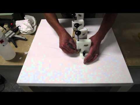 Solid Surface Countertop Crack Repair