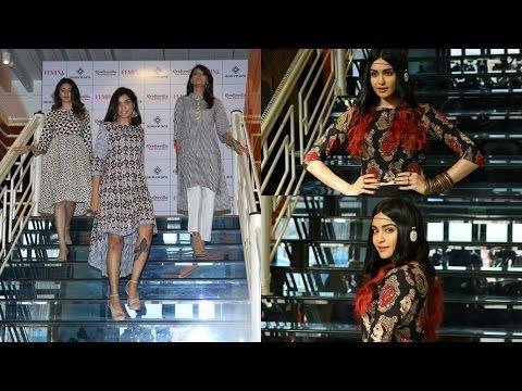 Adah Sharma Showcasing Craftsvilla Indian Ethic Wear Fashion