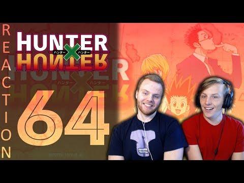 SOS Bros React - HunterxHunter Episode 64 - Slow Mo Training (видео)