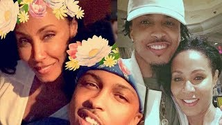 August Alsina Expose he had a relationship with Jada Smith behind Will Smith back - Nunya