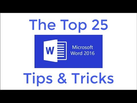 25 Tip Dan Trik Top Word 2016