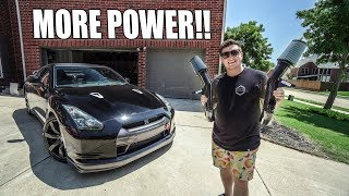 POWER UPGRADES FOR THE R35 GT-R! (it's WAY FASTER) by Evan Shanks