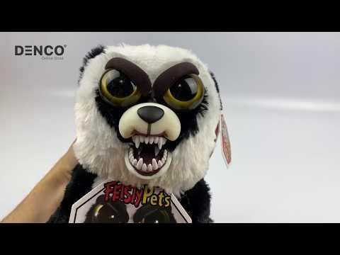 Мягкая игрушка Feisty Pets «Злая / Добрая Панда»  / 22 см.