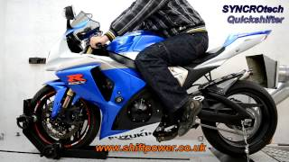9. GSXR1000 Quickshifter on dyno, seamless shifts!