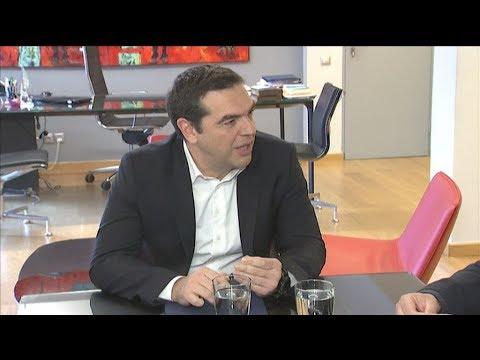 Τη στήριξή του στις κινητοποιήσεις των εργαζομένων του ΟΤΕ εξέφρασε ο Αλ. Τσίπρας