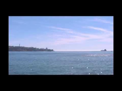Vista O.Pacífico desde Restaurante ClubHouse Muelle Barón, Valparaíso (7,8)
