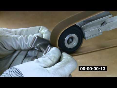 Scotch-Brite™ Durable Flex Belts against Competitive Non-Woven Belts