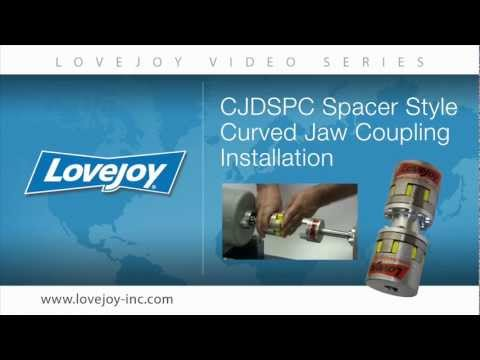 Lovejoy Curved Jaw Double Spacer (CJDSPC) Coupling Installation Video thumbnail