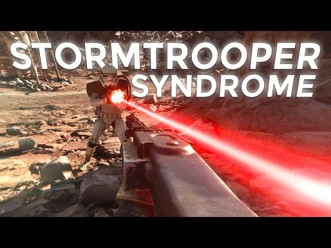 The Stormtroopers in games are just like the Stormtroopers in the movies.