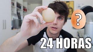 ¿Qué pasa si dejamos un HUEVO 24 HORAS en un vaso de VINAGRE?