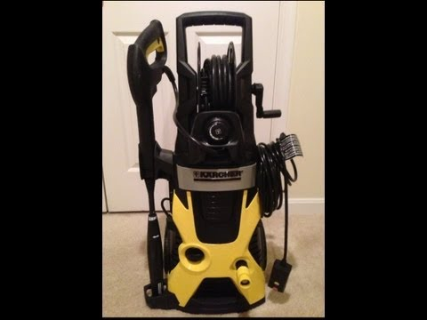 Karcher X-Series K5.740 2000 psi   Electric Pressure Washer   Overview / Car Wash Demo