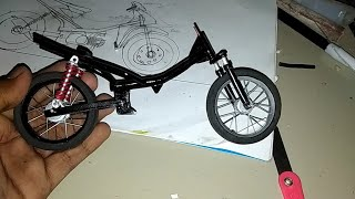 Cara membuat rangka( frame ) miniatur motor drag ( part tutorial)