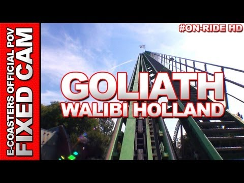 goliath - EN| On-board video of roller coaster Goliath at Walibi Holland (Walibi World), theme park near Amsterdam, Holland. FR| Vidéo on-ride de l'attraction Goliath ...
