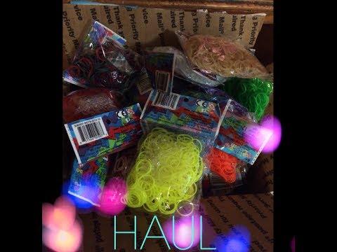Rainbow Loom Webstore Haul!!!!!!!!!