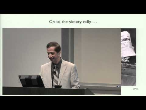 Lecture 17 - Three Learning Principles
