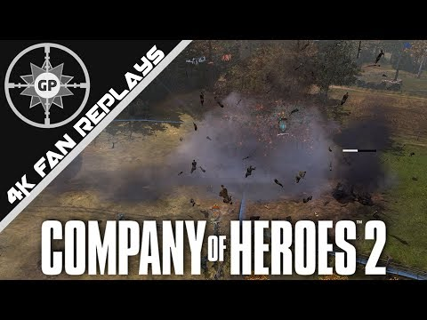A Goliath Of A Problem - Company Of Heroes 2 4K Replays #79
