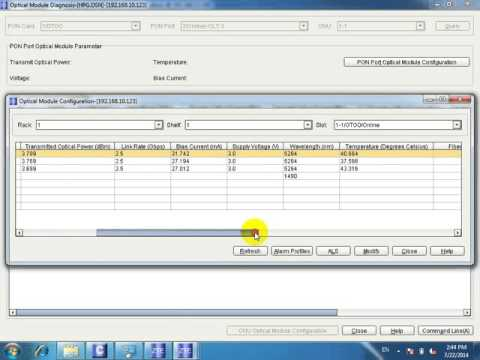 ONU Manage with NMS GPON ZTE (видео)