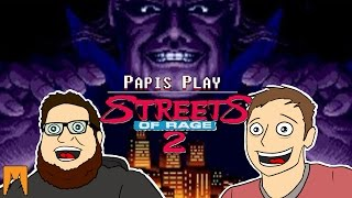 The Papi's attempt to take down Mr. X in Streets of Rage II!