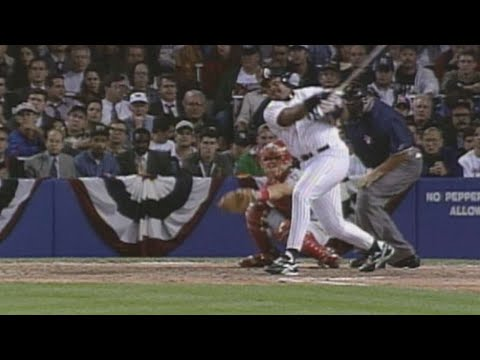 Video: 1996 ALDS Gm2: Cecil Fielder hits a solo home run