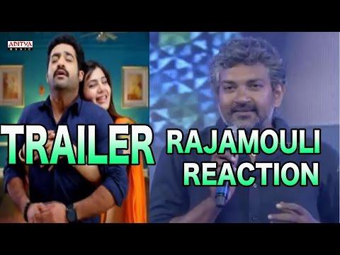 Rajamouli Reaction  Rabasa Theatrical Trailer  Jr NTR Samantha  Rabhasa