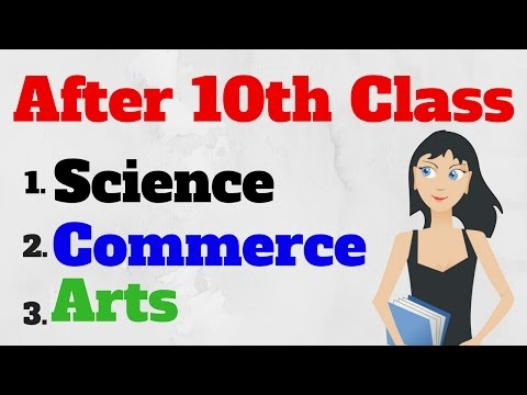 What After 10th Class ??? Commerce, Science ,Arts/Humanities [in Hindi]
