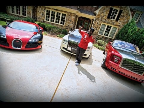 T Paine - From Rolls Royces to a Bugatti and even a Mini cooper, T-Pain has one of the most versatile fleets (and EXPENSIVE) fleets around. Hang with the super star si...