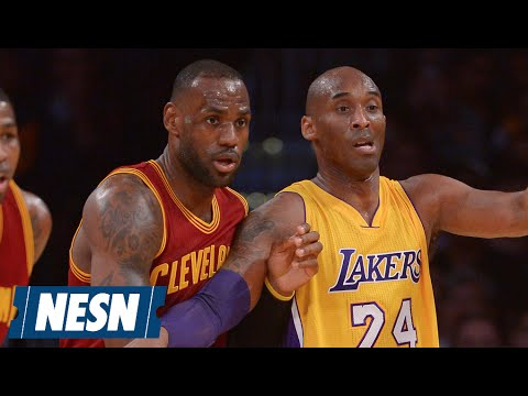 Video: Kobe Bryant, LeBron James Meet For Final Time