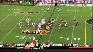 Cornellius Carradine vs Clemson (2012)