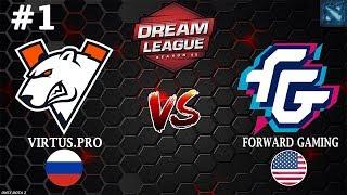 ВП СТАРТуют на МАЖОРЕ! | Virtus.Pro vs FWD #1 (BO3) | DreamLeague Season 11
