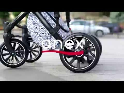 Автокресло Anex Sport (grey beige)