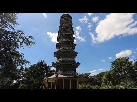 The Great Pagoda At Kew Unveiled