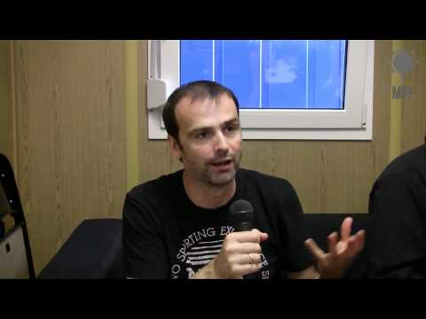 Hansi Kursch / Blind Guardian interview part 1 - Tuska Festival 2011 (видео)