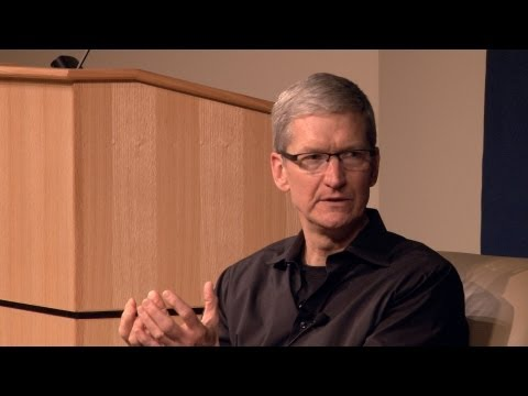 Apple CEO - Apple CEO Tim Cook explains how to hire people who will focus on collaboration and deliver the