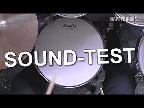 Evans Power Center Snare-Fell (Reverse Dot) Sound-Test
