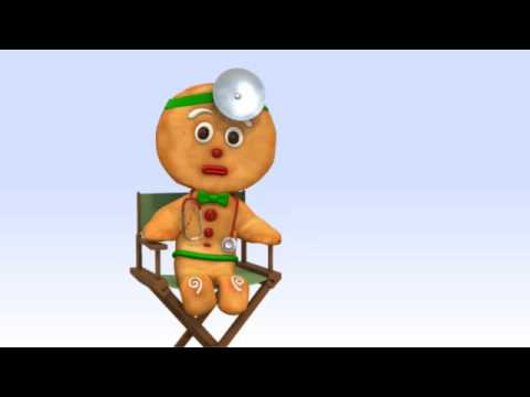 Healthy Holiday Tips with the Gingerbread Man: Doctor
