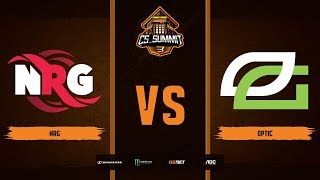 NRG vs OpTic, map 2 overpass, Grand Final, cs_summit 3