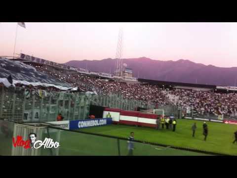Recibimiento Colo Colo - Botafogo, 8 Febrero 2017, Copa Libertadores - Garra Blanca - Colo-Colo