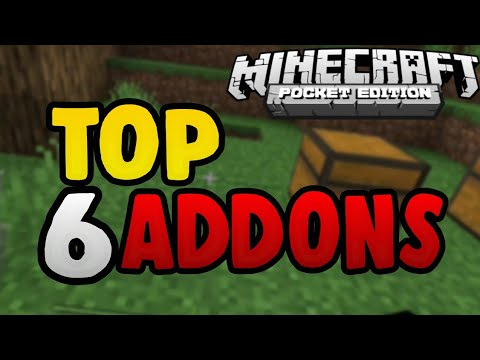 TOP 6 MODS - Addons para MINECRAFT PE!