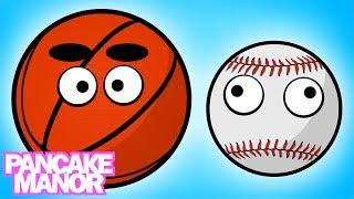 Sports Balls Song for Kids | Pancake Manor